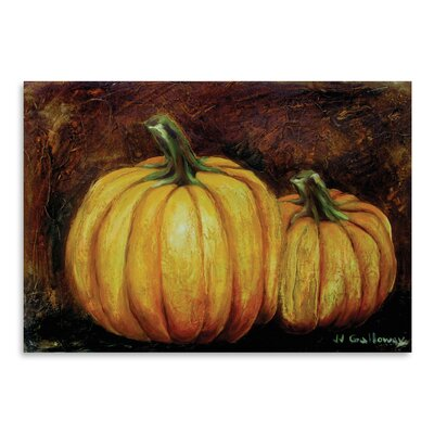 Americanflat 'Pumpkin Harvest' by JJ Galloway Art Print