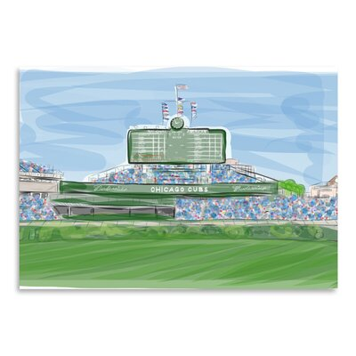 Americanflat 'Wrigley 1' by Marian Nixon Graphic Art