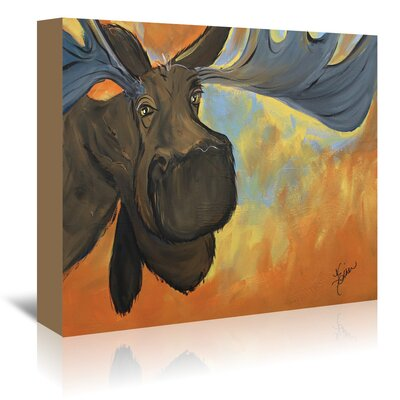 Americanflat 'Moose' by Terri Einer Art Print Wrapped on Canvas