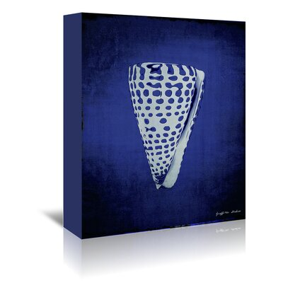 Americanflat 'Cone in Indigo' by Graffi Tee Studios Art Print Wrapped on Canvas