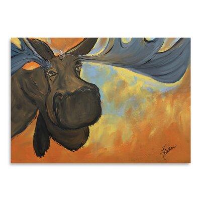 Americanflat 'Moose' by Terri Einer Art Print