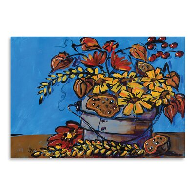 Americanflat 'Fall Flowers' by Terri Einer Art Print