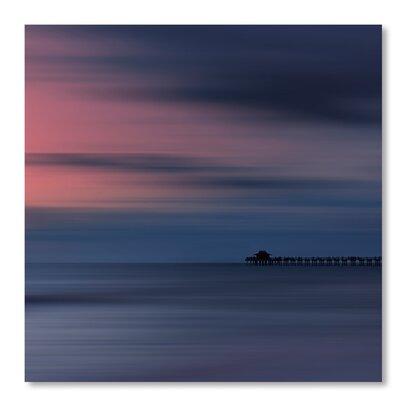 Americanflat 'Scenery Art Florida Sunset Naples Pier' by Melanie Viola Art Print