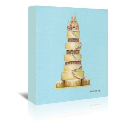 Americanflat 'CinderellaS Cake' by JJ Galloway Graphic Art Wrapped on Canvas
