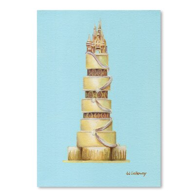 Americanflat 'CinderellaS Cake' by JJ Galloway Graphic Art