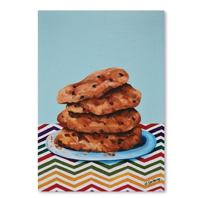 Americanflat 'Cookie Stack' by JJ Galloway Graphic Art