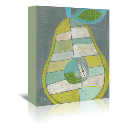 Americanflat 'Pear' by Julie Beyer Art Print Wrapped on Canvas
