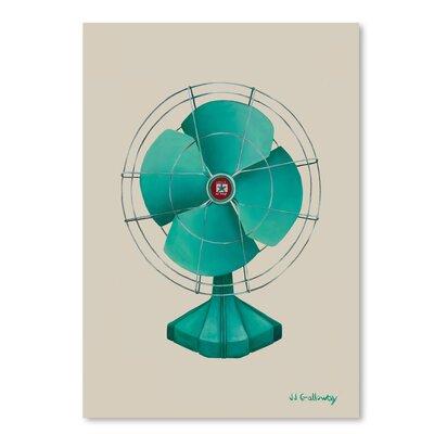 Americanflat 'Emerald Fan' by JJ Galloway Graphic Art
