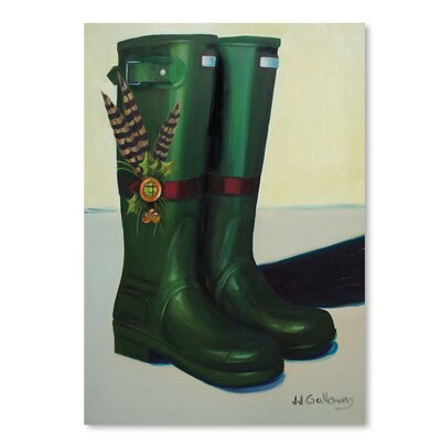 Americanflat 'Holiday Wellies' by JJ Galloway Graphic Art