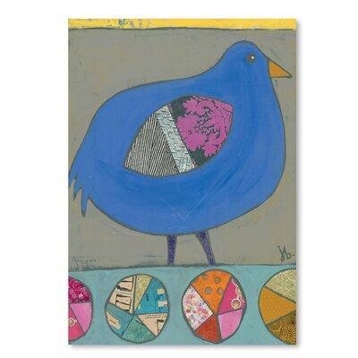 Americanflat Blue Bird' by Julie Beyer Art Print