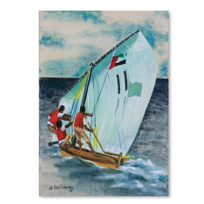 Americanflat Sailing Down' by JJ Galloway Art Print