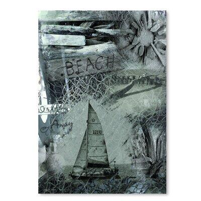 Americanflat 'Drift Away' by Graffi Tee Studios Graphic Art