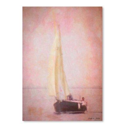 Americanflat 'Sailing in Venice' by Graffi Tee Studios Art Print