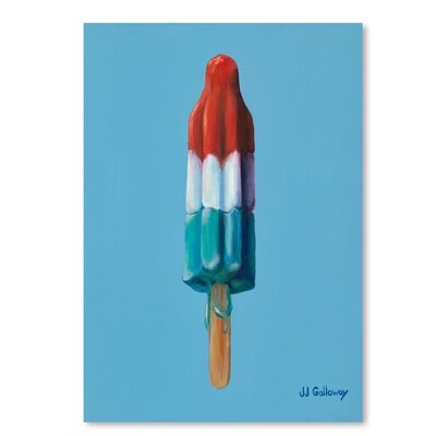 Americanflat Rocket Pop 2' by JJ Galloway Art Print