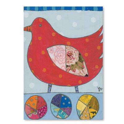 Americanflat 'Red Bird' by Julie Beyer Graphic Art