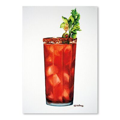 Americanflat 'Bloody Mary' by JJ Galloway Art Print
