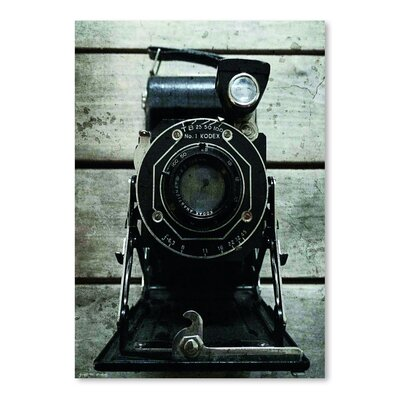 Americanflat 'Kodak Junior Camera' by Graffi Tee Studios Photographic Print