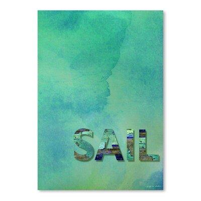 Americanflat 'Sail' by Graffi Tee Studios Graphic Art