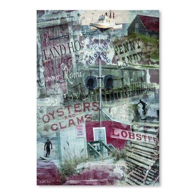 Americanflat 'Summer Reverie' by Graffi Tee Studios Graphic Art