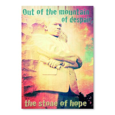 Americanflat 'The Stone of Hope' by Graffi Tee Studios Graphic Art