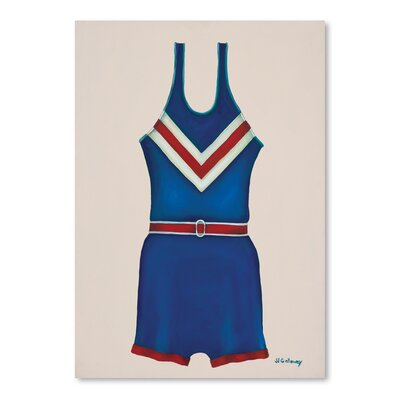 Americanflat 'Blue Uniform' by JJ Galloway Graphic Art