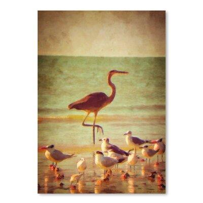 Americanflat 'Great Heron' by Graffi Tee Studios Photographic Print