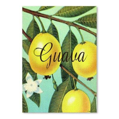 Americanflat Guava' by Graffi Tee Studios Graphic Art