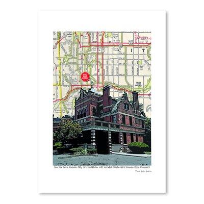 Americanflat Kansas City Art Institute' by Lyn Nance Sasser Graphic Art