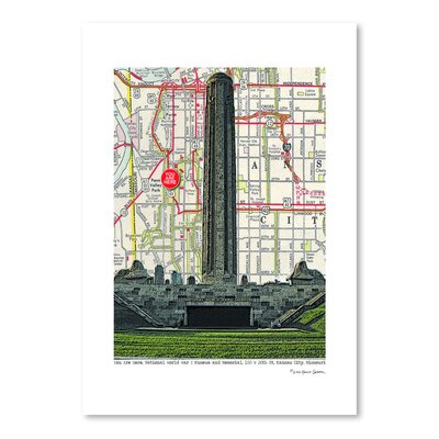 Americanflat 'Kansas City Liberty Memorial Wwi Museum' by Lyn Nance Sasser and Stephen Sasser Graphic Art
