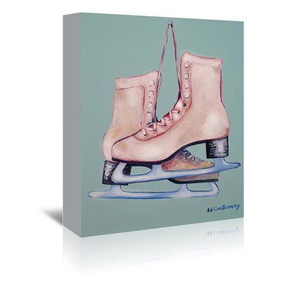 Americanflat 'My Old Skates' by JJ Galloway Art Print Wrapped on Canvas