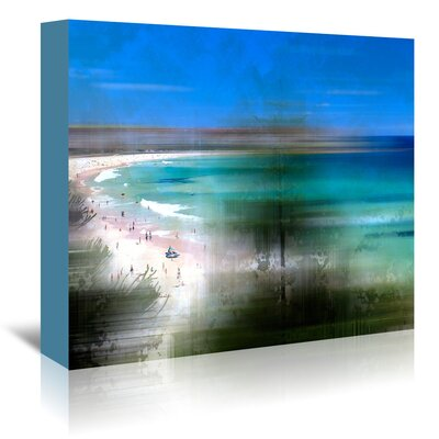 Americanflat 'Scenery Art Bondi Beach' by Melanie Viola Graphic Art Wrapped on Canvas
