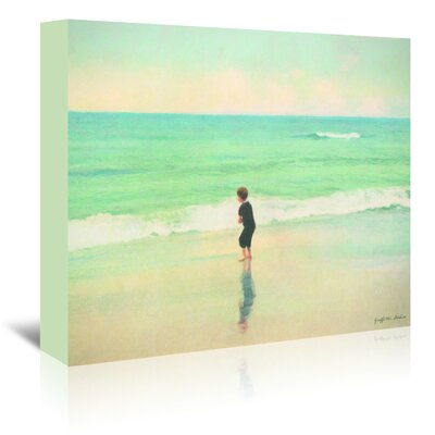 Americanflat 'The Ocean and Me' by Graffi Tee Studios Art Print Wrapped on Canvas