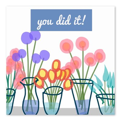 Americanflat You Did It! 2' by Marian Nixon Graphic Art