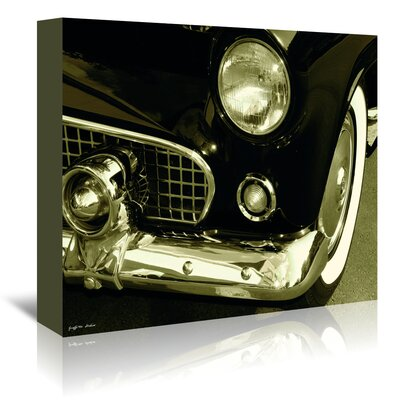Americanflat 'Thunderbird Front End' by Graffi Tee Studios Photographic Print Wrapped on Canvas