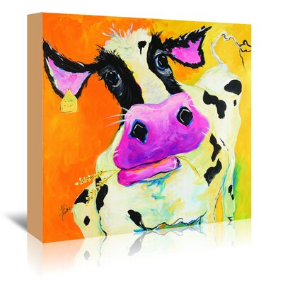 Americanflat 'Cow' by Terri Einer Art Print Wrapped on Canvas