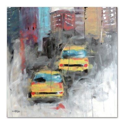 Americanflat 'City' by Annie Rodrigue Art Print