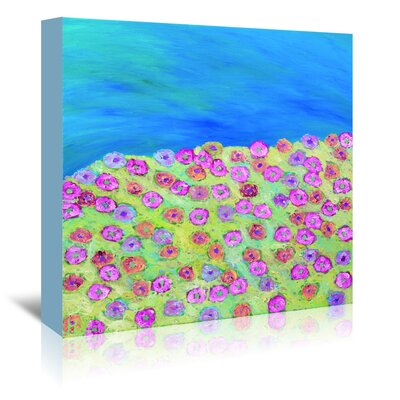 Americanflat 'Summertime' by Helen Joynson Art Print Wrapped on Canvas