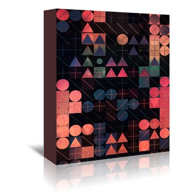 Americanflat Shww Thyrww' by Spires Graphic Art Wrapped on Canvas