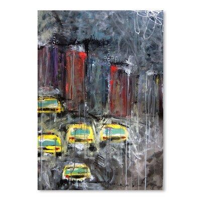 Americanflat 'Urbanite 9' by Annie Rodrigue Art Print