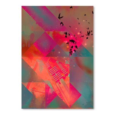 Americanflat Twtyl Flyyt' by Spires Graphic Art
