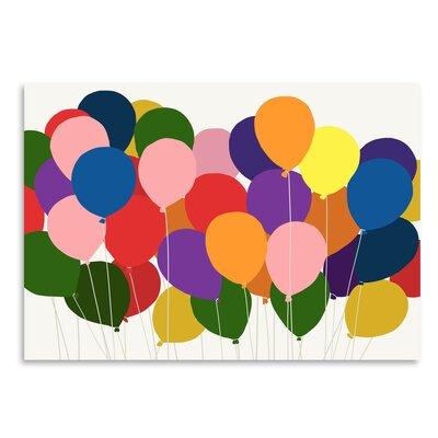 Americanflat 'Balloons' by Jorey Hurley Art Print