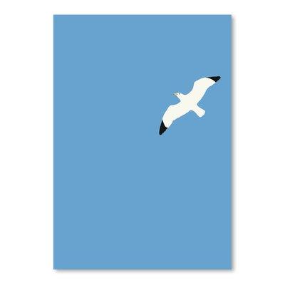 Americanflat 'Flying Bird' by Jorey Hurley Art Print