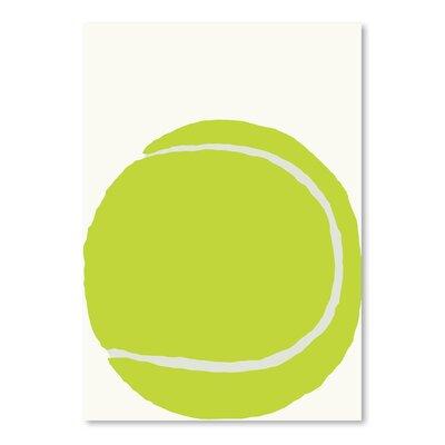 Americanflat 'Tennis Ball' by Jorey Hurley Art Print