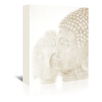Americanflat Mitreya Buddhas' by Golie Miamee Photographic Print Wrapped on Canvas