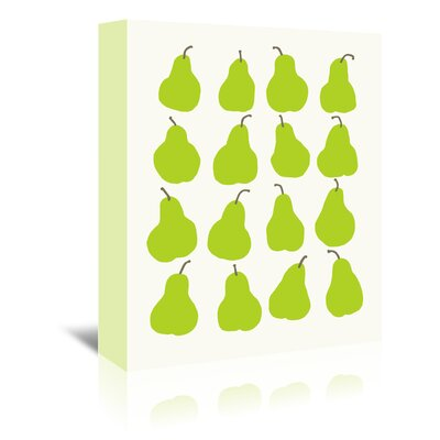 Americanflat 'Pears' by Jorey Hurley Art Print Wrapped on Canvas