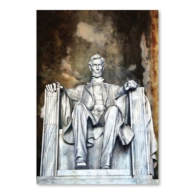 Americanflat 'Lincoln Memorial' by Golie Miamee Photographic Print
