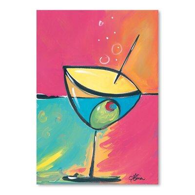 Americanflat 'Happy Hour IV' by Terri Einer Art Print