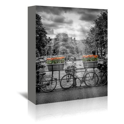Americanflat Typical Amsterdam II' by Melanie Viola Photographic Print Wrapped on Canvas