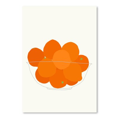 Americanflat 'Bowl of Oranges' by Jorey Hurley Art Print