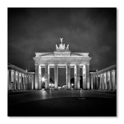 Americanflat 'Berlin Brandenburg Gate' by Melanie Viola Photographic Print